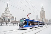 GLONASS terminals and video surveillance system by SpaceTeam® are using in low-floor trams